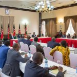 We support the war against graft and counterfeits, EU envoys tell President Kenyatta