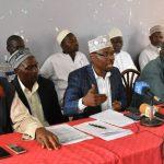 Intervene or else … Maji ya Chumvi elders warn government