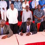 Blue economy gets a shot in the arm as Kenyatta commissions Bandari Maritime Academy