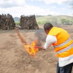 President Kenyatta destroys 8,700 illegal guns, warns against ownership of illicit arms