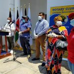 Rotary Club Joins Hands to Stop COVID-19 in Hotspot Counties