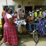 Disabled Get Face Masks from CBO to Combat COVID-19